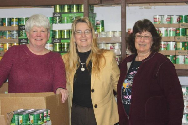 Danville dental food drive